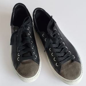 Treasure & Bond leather and suede sneaker shoe